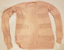 af96a1c40b7 NEW CHEROKEE Girls Knit long long sleeve PEACH CARDIGAN SWEATER Sz XL 14-16