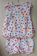 Oilily bébé fille CONFETTI blouse et short tenue 4 ans