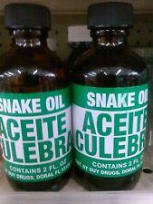 SNAKE OIL - ACEITE DE CULEBRA - EXCELLENT FOR HAIR LOSS