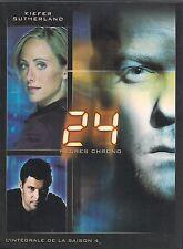 COFFRET 7 DVD ZONE 2--24 HEURES CHRONO--SERIE TV / INTEGRAL SAISON 4
