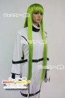 Code Geass C C Cosplay Wig 100Cm