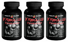 Tribulus Terrestris Extract 1000mg 270 tabs. Premium Quality (3 Bottles)