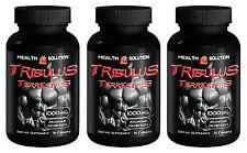 Tribulus Terrestris Extract 1000mg 270 tabs. Premium Quality (3 Bottles)