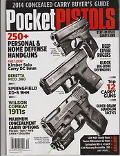 POCKET PISTOLS Magazine #140 CONCEALED HANDGUNS,2014 BUYER GUIDE OVER 200+ GUNS!