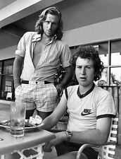 BJORN BORG JOHN MCENROE 8X10 GLOSSY PHOTO PICTURE
