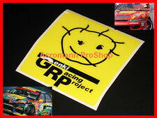 "2x 4"" 10.16cm GENKI Racing Project decal sticker d1gp drift SXE10 is350 jgtc d1"