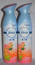 2 FEBREZE GAIN ISLAND FRESH AIR REFRESHER FRESHENER SPRAY MIST  8.8 OZ NEW