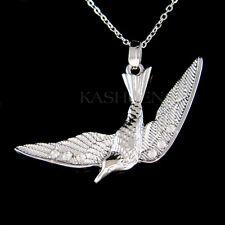 w Swarovski Crystal ~Swallow Bird~ Love Loyalty Heaven Home Hope Symbol Necklace
