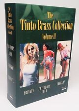 TINTO BRASS Collection Volume 2 CHEEKY PRIVATE LOLA ~ NEW & SEALED 3-DVD Set