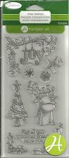 Hampton Art Outlines Clear Stamps - Christmas Dreams #553 SC0669