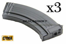 CYMA 600rd HI-CAP Airsoft Toy Magazine For AK47 AK74 AK74U AK74S AK AEG 3PCS C22