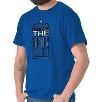 The Doctor Is In Funny Sci Fi Fantasy Time Travel Joke Classic T Shirt Tee