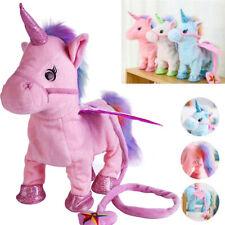 Magic Walking & Singing Unicorn Plush Toys Birthday Cutest Gift for Kids