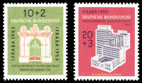 EBS Germany 1953 Stamp Exhibition IFRABA Frankfurt Michel 171-172 MNH** cv $79
