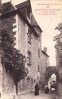 SAINT-BERTRAND-DE-COMMINGES l'ancien évêché et la porte de caribol