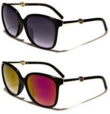 Bolsa libre de Moda para Mujer Retro De colección Gafas Ojo de Gato Grandes Diseñador