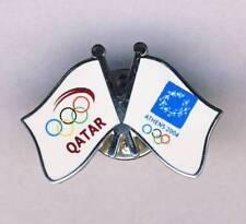 2004 ATHENS Olympics QATAR NOC PIN badge QATARI