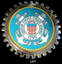 United States Coast Guard Automobile Grille Badge Emblem Military