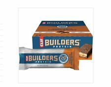 12 x 68g CLIF Builders Protein Bar Chocolate Peanut Butter