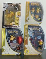 Pokemon Tomy 20th Anniversary 025 Pikachu Shiny 4 Pack Ash & Pikachu Pokeball