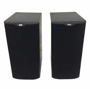 Pair of B&W - Bowers & Wilkins DM602 S1 Bookshelf Speakers | 120W | Black | Used