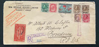 1932 Toronto Canada Commercial Special Delivery Cover To Providence RI USA