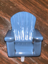Nora Fleming Blue Adirondack Chair