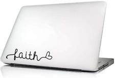 Faith - Macbook Decal
