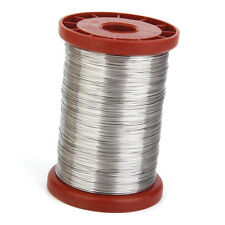 0.5mm 500G Stainless Steel Wire for Beekeeping Beehive Frames Tool 1 Roll F9B4