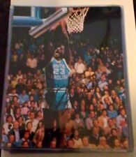 MICHAEL JORDAN PHOTO Signed North Carolina TAR HEELS BASKETBALL Reprint IN CASE