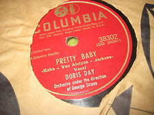 78 RPM Columbia 38302 DORIS DAY Pretty Baby / Just Imagine 500
