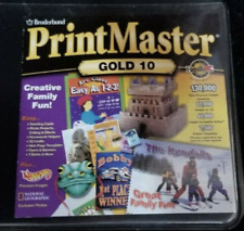 Print Master Gold 10 (PC CD-ROM) PrintMaster