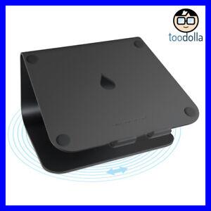 RAIN DESIGN mStand 360 aluminium swivel desktop stand, MacBook & laptops, Black