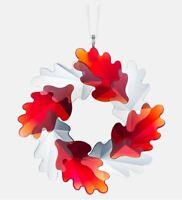 Swarovski Crystal 5464866 Wreath Ornament Leaves  6.3x6cm RRP $99