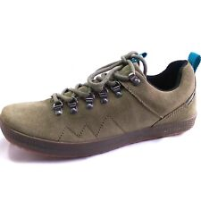 Cushe Mitchy  Men's Size 10 Olive Suede Casual Walking Trail Military Sneakers