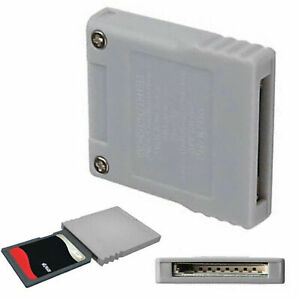 SD Memory Flash Card Stick Converter For Nintendo Wii NGC GameCube Console ABS