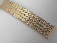 "Gold Filled Baldwin Mens Vintage Watch Band 17.5mm 11/16"" Scissor Expansion NOS"