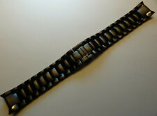Timex T3C163 TX 650 GT Black Fly-Back Dual Time Chronograph 21mm Watch Band