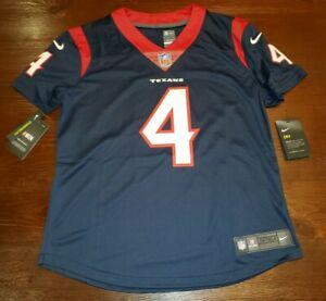 WMNS Nike On Field Houston Texans Deshaun Watson #4 NFL Jersey Women's SZ M $150