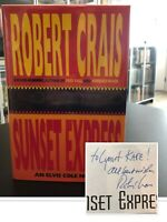 Sunset Express – SIGNED FIRST EDITION – 1st Printing – Robert Crais