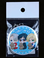 Yuri on Ice Can Strap Key Chain official Bell House Yuri & Victor & Yurio 1 New