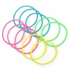 Girls Neon Bracelets, party bag, loot filler, gift Birthday party pack of 12