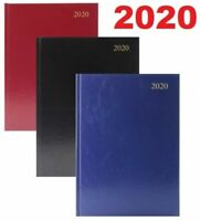 2020 A4/A5, Yearly Day a page/Week To View Hard Cover Diary