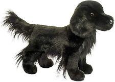 "Jett Flat Coated Retriever 16"" Stuffed Animal Plush Black Dog Douglas Cuddle Toy"