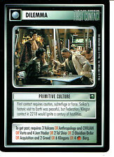 STAR TREK CCG FIRST CONTACT RARE CARD PRIMITIVE CULTURE
