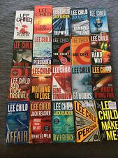 LEE CHILD You Choose $3.50 EACH   JACK REACHER paperbacks READ DESCRIPTION BELOW