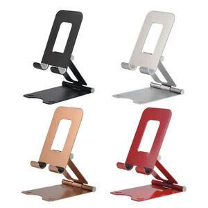Universal Desk Stand Holder Universal For Mobile Phone Tablet Alloy Adjustable