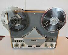 Revox G36 MK III Stereo Reel to Reel Player 4 Track Custom Wood Case & Paperwork