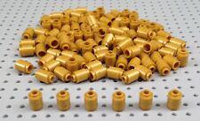 Lego 1x1 Gold Round Brick Barrel (3062) x25 BRAND NEW Star War City Harry Potter