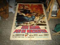 1000 Dollari For A Winchester Manifesto 2F Original 1964 D.Robertson M. Hyer